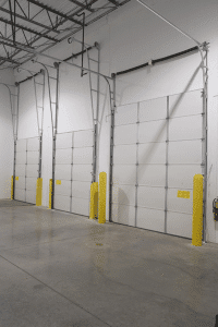 commercial high-lift garage doors