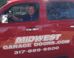Indianapolis residential garage door repair service for Garage door repair noblesville