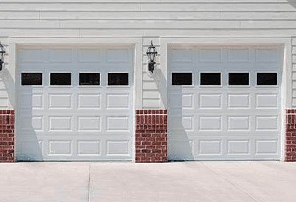 Traditional garage doors in stock midwest garage doors for Garage door repair noblesville