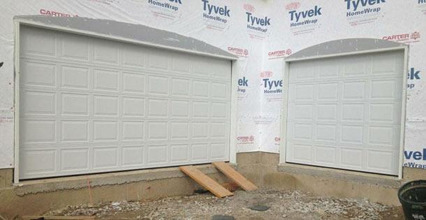 Custom Indianapolis Residential Garage Door Installation · Before ...