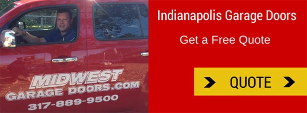Indianapolis free quote | Midwest Garage Doors