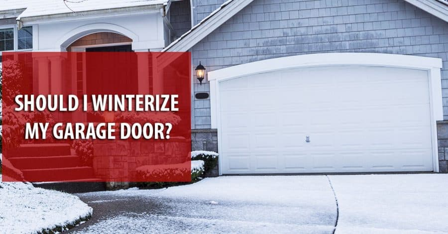 Why Winterize Your Garage?