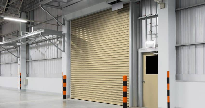 Insulated Commercial Garage Door 101