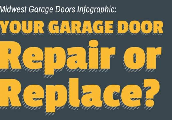Infographic: Your Garage Door – Repair or Replace?